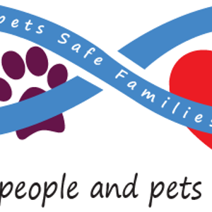 Safe pets safe families Logo