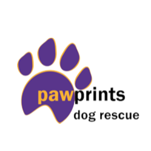 Pawprints Dog Rescue Rugby Logo