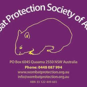 Wombat Protection Society Of Australia Limited Logo
