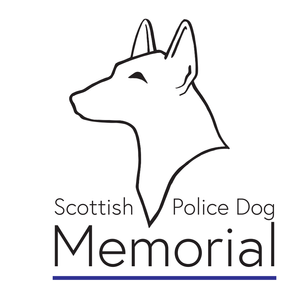 Scottish Police Dog Memorial Logo