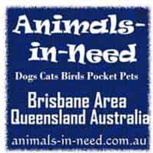 Animals in need Brisbane Logo