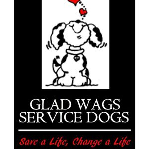 Glad wags Service Dogs inc Logo