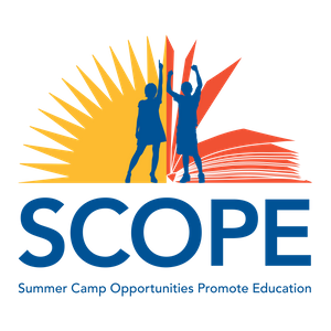 Summer Camp Opportunities Promote Education (SCOPE) Logo