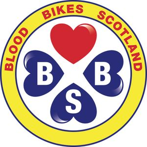Blood Bikes Scotland Logo