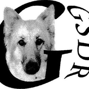 Garbo's German Shepherd Dog Rescue Logo