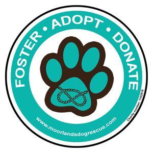 Moorlands Dog Rescue Logo