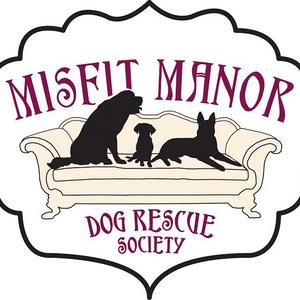 Misfit Manor Dog Rescue Logo