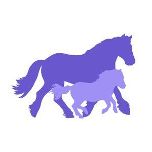 Spirit of the herd. Horse rescue, Cheshire Logo