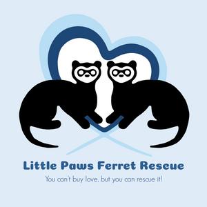 Little Paws Ferret Rescue Logo