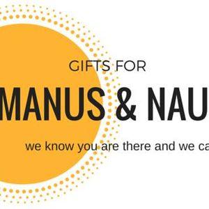 Gifts for Manus and Nauru Incorporated Logo