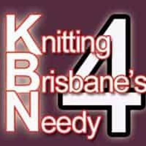 Knitting for Brisbanes Needy Logo