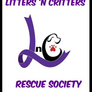 Litters and Critters Rescue Society Logo