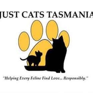 Just Cats Tasmania Logo