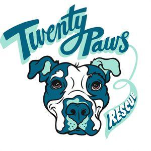 TWENTY PAWS RESCUE Logo