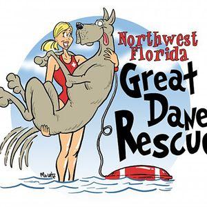 Northwest Florida Great Dane Rescue Logo