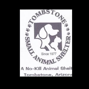 Tombstone Small Animal Shelter Logo