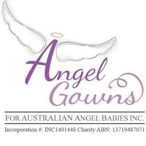 Angel Gowns for Australian Angel Babies Incorporated Logo