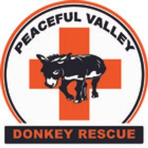 PEACEFUL VALLEY DONKEY RESCUE, INC. Logo