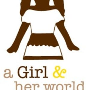 A Girl and Her World Logo