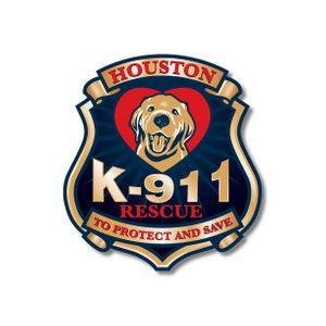Houston K-911 Rescue Logo
