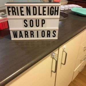 Friendleigh Soup Warriors Geelong Logo