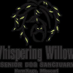 Whispering Willows Senior Dog Sanctuary Logo