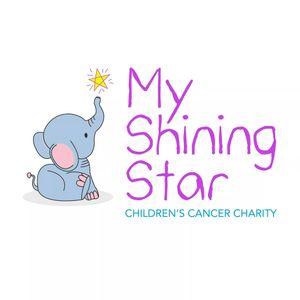 My Shining Star Children's Cancer Charity Logo