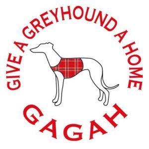 Give A Greyhound A Home - GAGAH Logo