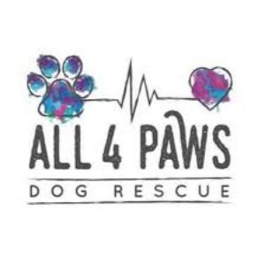 All 4 Paws Dog Rescue Logo