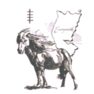 Eriskay Pony Society-Comann Each nan Eilean Logo