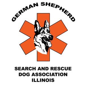 German Shepherd Search and Rescue Dog Association Logo