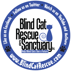 blind cat rescue Logo