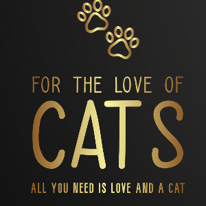 For the Love of Cats Rescue Logo