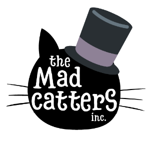 The Mad Catters Feline Rescue Inc. Logo