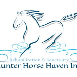 Hunter Horse Haven In Logo