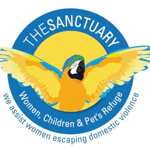 The Sanctuary Women, Children and Pet's Refuge Logo