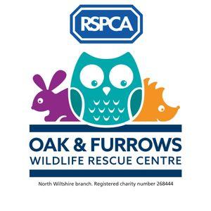 RSPCA Oak and Furrows Wildlife Rescue Logo