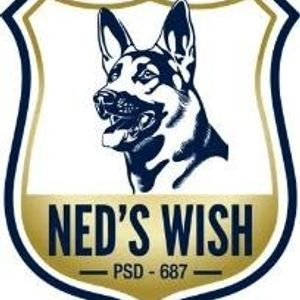 Ned's Wish - A Society for Retired Police Service Dogs Logo