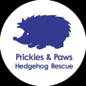 Prickles and Paws Hedgehog Rescue Logo