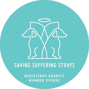 Saving Suffering Strays Logo