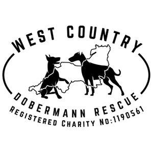 West Country Dobermann Rescue Logo