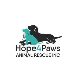 Hope4Paws Animal Rescue Inc Logo