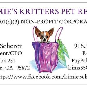 Kimie's Kritters Pet Rescue Logo