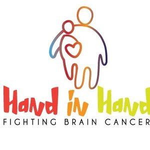 Hand in Hand - Fighting Brain Cancer Logo