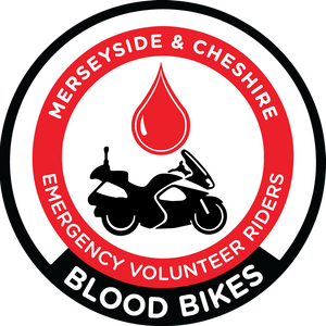 Merseyside & Cheshire Blood Bikes Logo