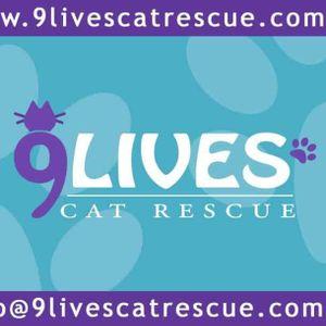 9 Lives Cat Rescue Logo