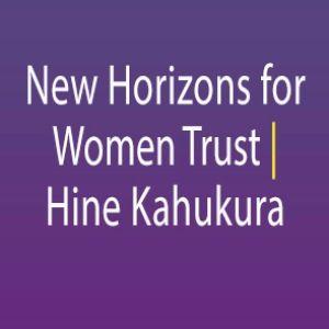 New Horizons for Women Trust: Hine Kahukura Logo