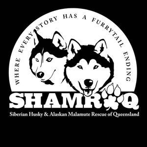 SIBERIAN HUSKY AND ALASKAN MALAMUTE RESCUE OF QUEENSLAND INC Logo
