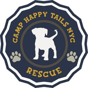 Camp Happy Tails NYC Rescue Logo