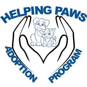 Helping Paws Adoption Program Logo